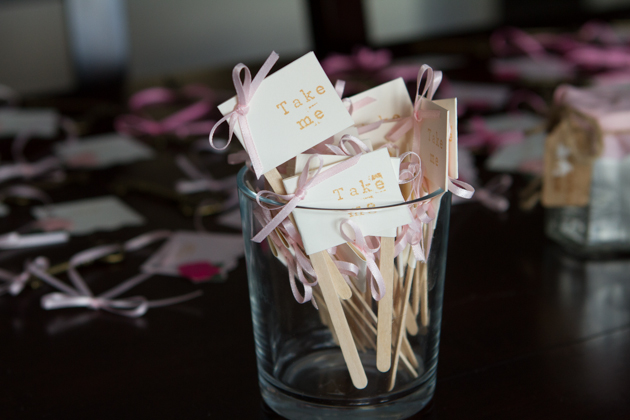 Antique-Vintage Wedding Craft Ideas -- cupcake flags #wedding #antique #crafts
