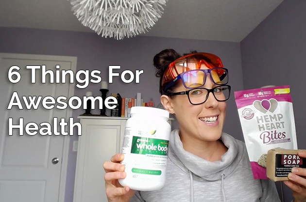 Video: 6 Things For Awesome Health #health #hemp #bluelight #healthysleep #porksoap