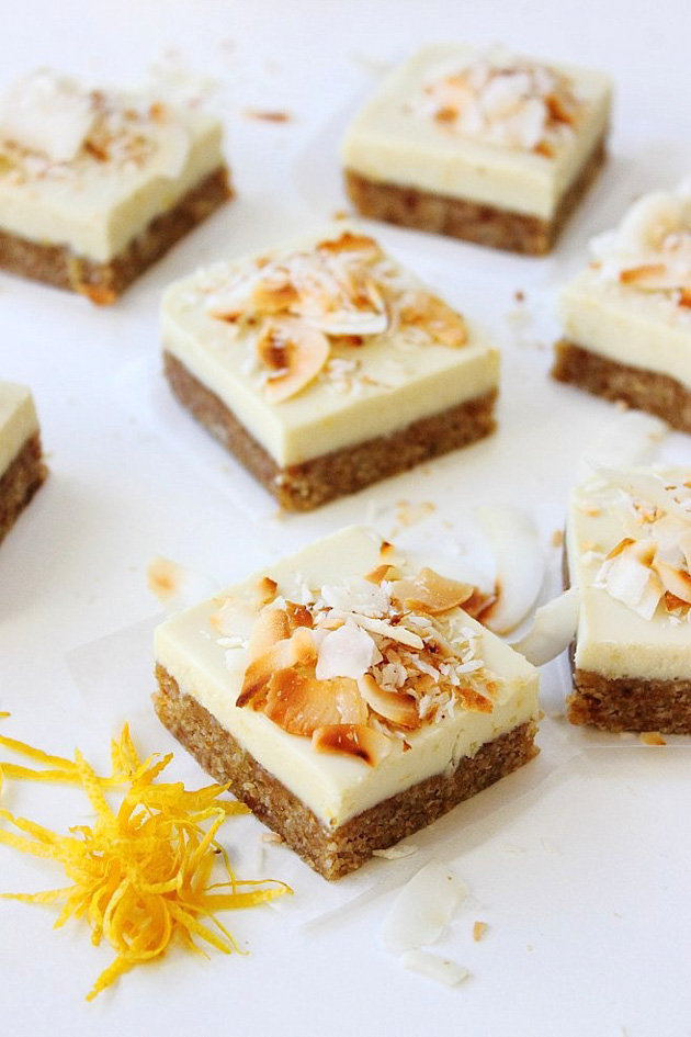 White Chocolate Squares #paleo #vegan #grainfree