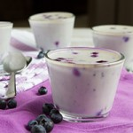 No Sugar! Blueberry White Chocolate Panna Cotta (dairy-free, keto, low-carb + paleo) Preview