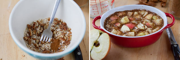 Apple Pie Quinoa Breakfast Casserole