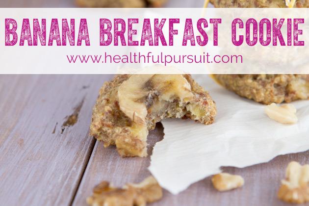 Banana Breakfast Cookie