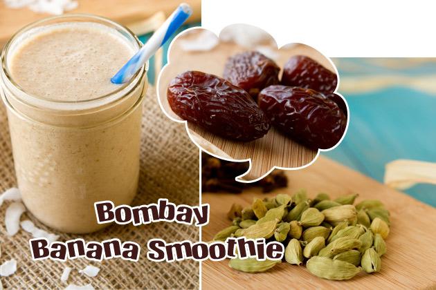 Bombay Banana Smoothie #vegan #smoothie #vibrantlifecleanse