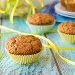 Dairy-free Cheddar Apple Muffins