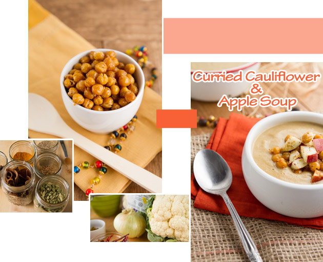 Curried Apple and Cauliflower Soup