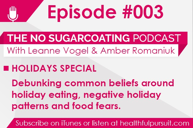 No Sugarcoating Podcast: Holiday Eating Fears