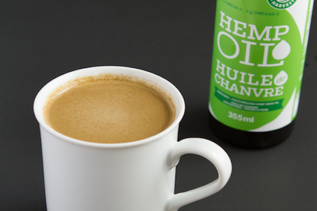 hemp oil latte