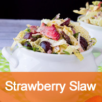 Strawberry Coleslaw