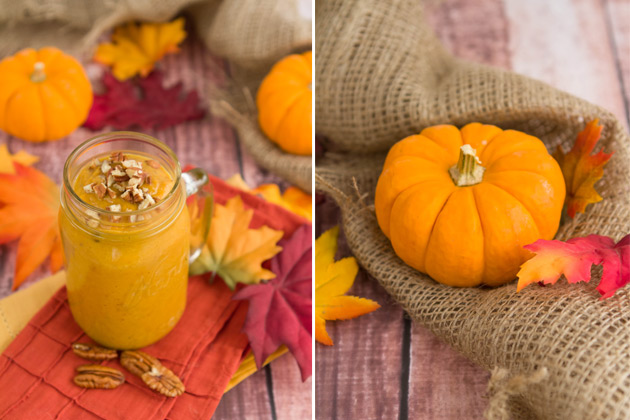 Pumpkin Orange Cream Smoothie