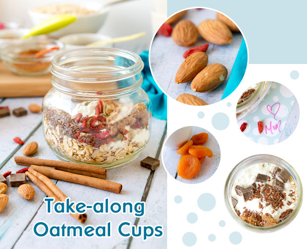 Take-along Oatmeal Cups