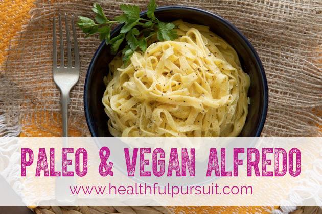 Paleo & Vegan Alfredo