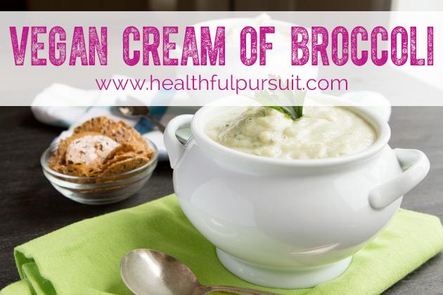 Vegan Cream of Broccoli